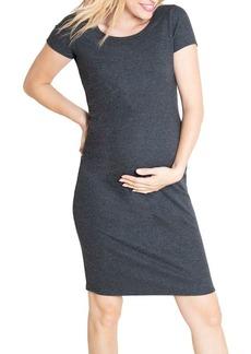 Ingrid & Isabel Maternity Short-Sleeve T-Shirt Dress