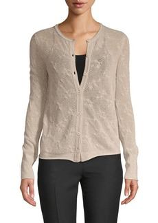 Inhabit Buttoned Cashmere Cardigan