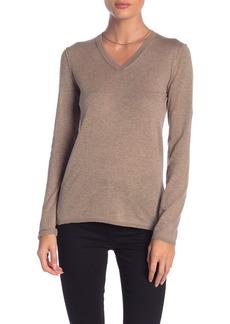 Inhabit Essential Cotton V-Neck Sweater
