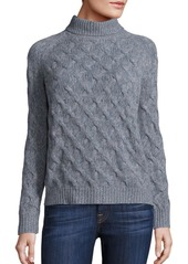 INHABIT Cashmere Cable Knitted Sweater