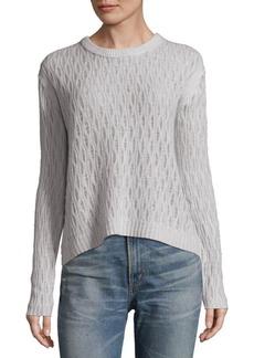 Inhabit Crewneck Cashmere and Linen Sweater