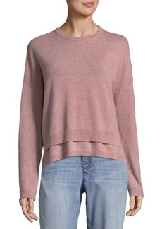 Inhabit Double Crew Cashmere Sweater