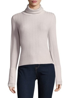Inhabit Ribbed Turtle Cashmere Sweater