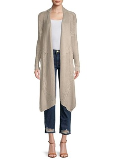 Inhabit Two-Way Linen Cardigan