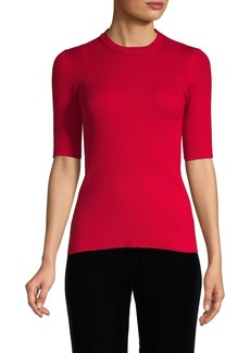 Inhabit Ribbed Cotton Top