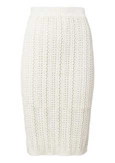 Intermix Adelina Crochet Knit Skirt