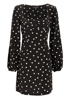 Intermix April Polka Dot Dress