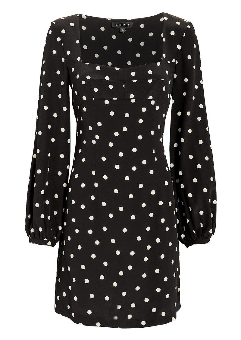 Intermix April Polka Dot Dress