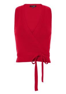 Intermix Celeste Wrap Knit Top