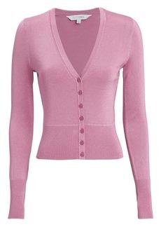 Intermix Celestine Pink Lurex Cardigan