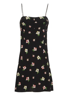 Intermix Cyrus Floral Slip Dress