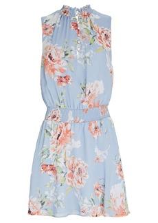 Intermix Eva Floral Silk Mini Dress