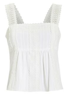 Intermix Laisey Cotton Lace Top