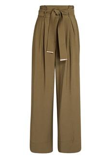 Intermix Matilda Paperbag Wide-Leg Pants