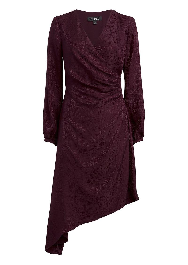 Intermix Nadia Jacquard Midi Dress