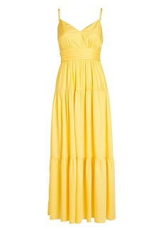 Intermix Noelle Tiered Maxi Dress