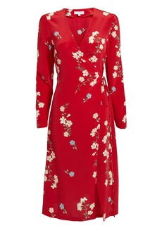 Intermix Ottavia Printed Wrap Dress