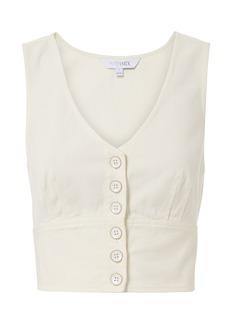 Intermix Vix Cotton Twill Top