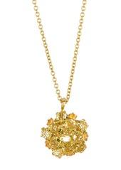 Ippolita 18K Gold Lollipop(R) Small Citrine & Sapphire Flower Cluster Necklace