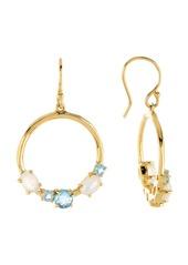 Ippolita 18K Gold Rock Candy(R) Gemstone Open Wire Earrings