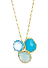 Ippolita 18K Gold Rock Candy(R) Mixed Gemstone Pendant Necklace
