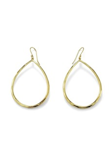 Ippolita 18kt gold large teardrop earrings