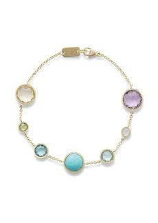 Ippolita 18kt yellow gold Lollipop 7 multi-stone bracelet