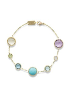 Ippolita 18kt yellow gold Lollipop 7 multi-stone bracelet