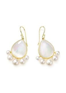 Ippolita 18kt yellow gold Nova pearl drop earrings