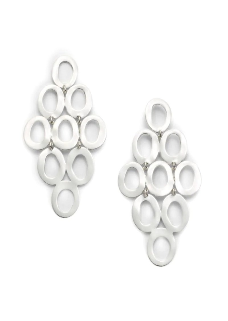 Ippolita Classico Sterling Silver Open Cascade Earrings