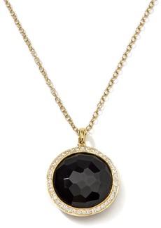 Ippolita 18K Gold Rock Candy Lollipop Necklace with Diamonds