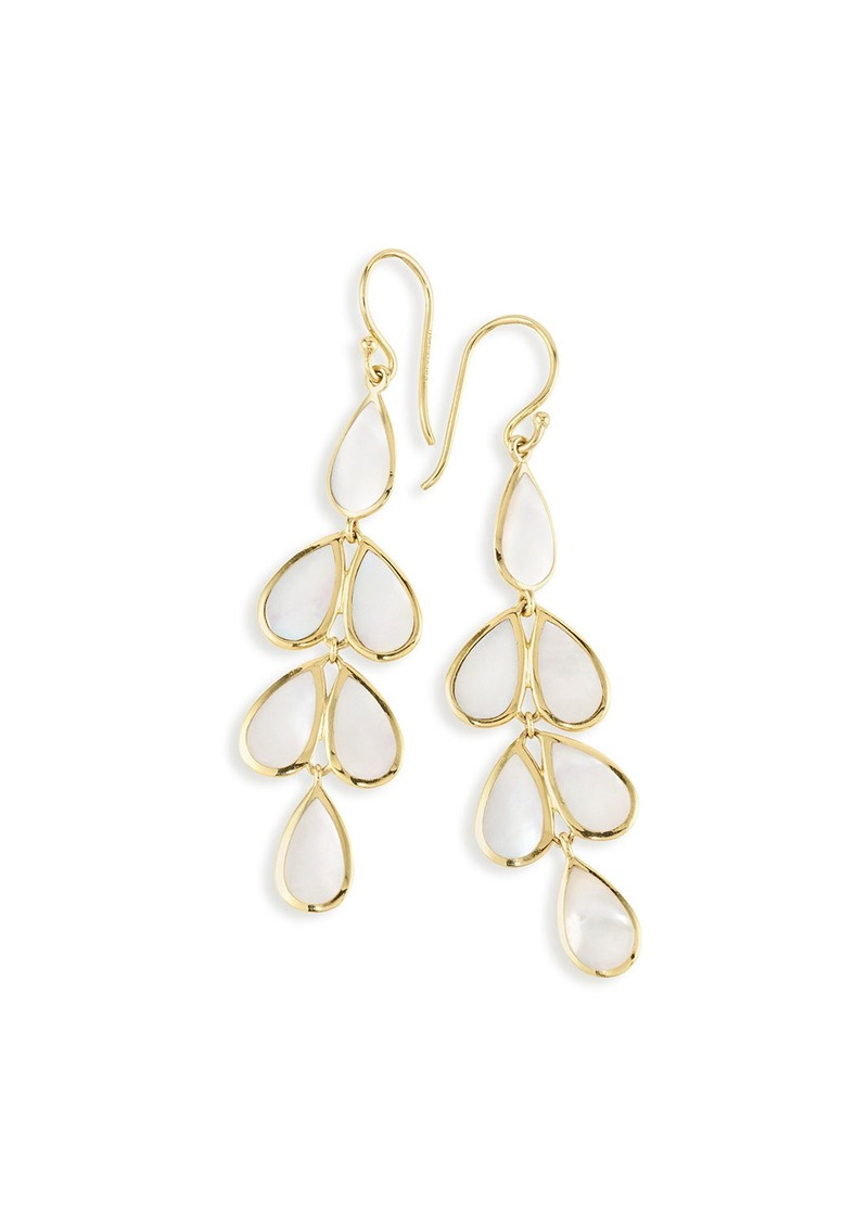 Ippolita 18K Rock Candy Mother-of-Pearl Teardrop Earrings