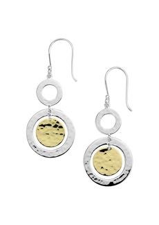 IPPOLITA 18K Yellow Gold & Sterling Silver Classico Chimera Orbital Drop Earrings