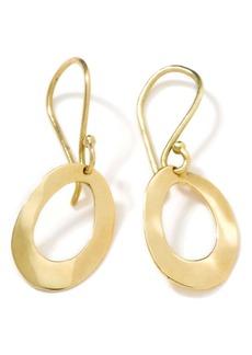 Ippolita Classico Mini Wavy Oval Hoop Earrings