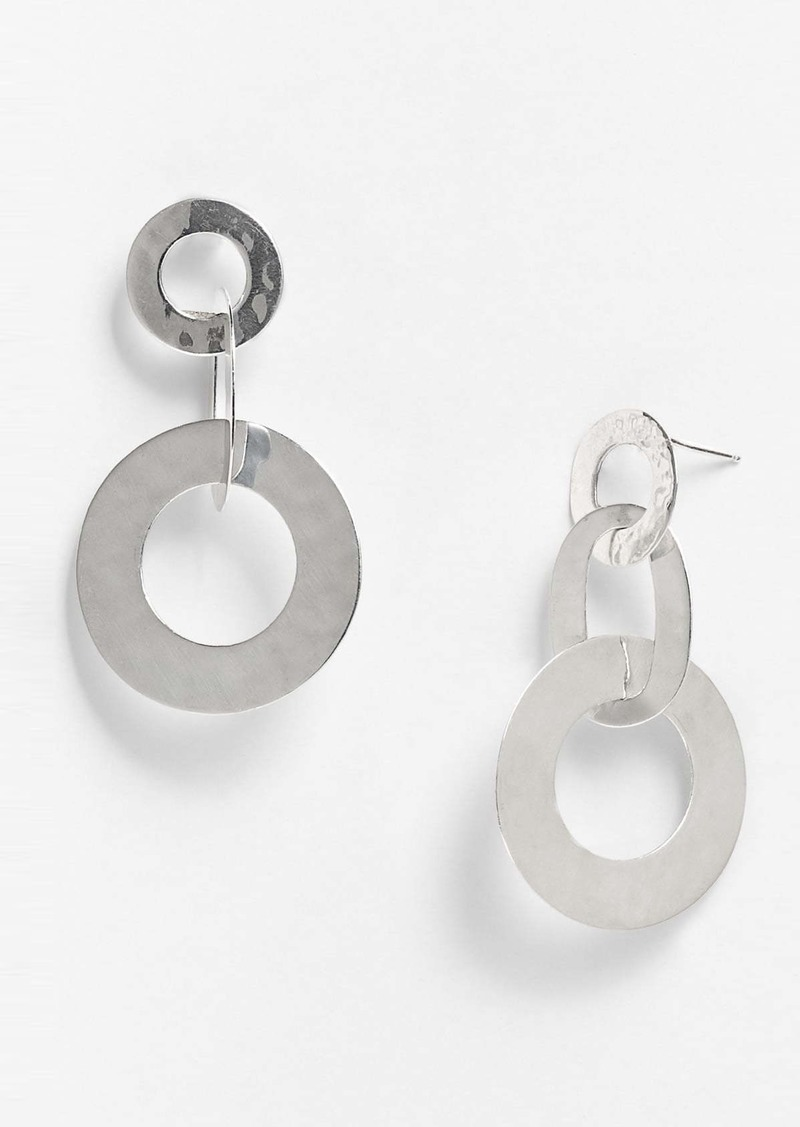 Ippolita 'Flat Links' Triple Link Earrings