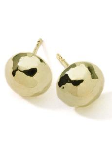 Ippolita 'Glamazon' 18k Gold Hammered Ball Earrings