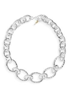 Ippolita 'Glamazon' Hammered Silver Heavy Gauge Necklace