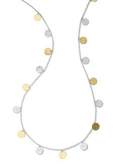 Ippolita Hammered Disc Necklace