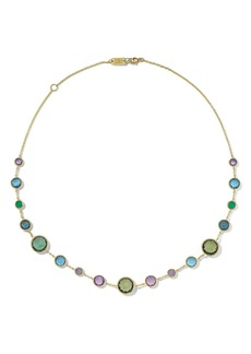 Ippolita Lollipop Short Semiprecious Stone Station Necklace