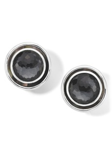 Ippolita Medium Rock Candy Circle Stud Clip Earrings