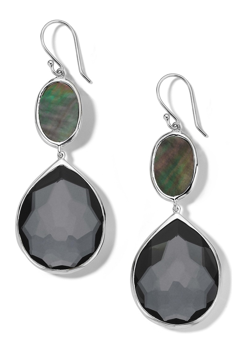 Ippolita Odine Oval & Teardrop Stone Earrings