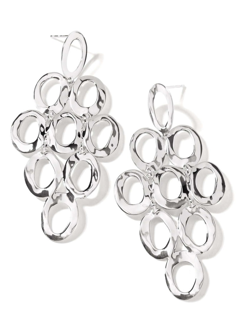 Ippolita Open Oval Cascade Earrings