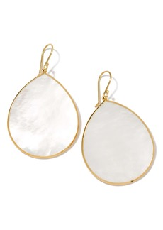 Ippolita 'Rock Candy - Jumbo Teardrop' 18k Gold Earrings