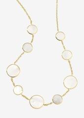 Ippolita 'Rock Candy' Circle Station 18k Gold Necklace
