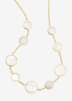 Ippolita 'Rock Candy' Circle Station 18k Gold Necklace