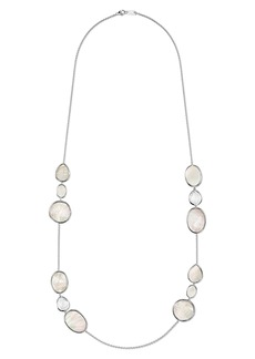 Ippolita Rock Candy Long Cluster Station Necklace