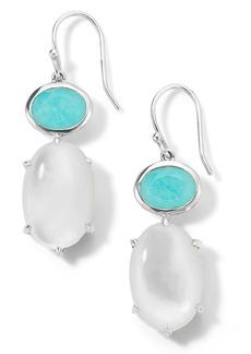 Ippolita Rock Candy Luce 2-Stone Sterling Silver Drop Earrings