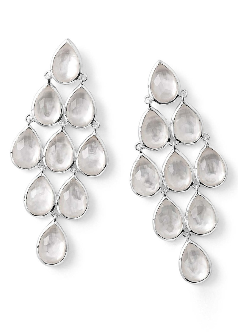Ippolita 'Rock Candy' Teardrop Semiprecious Stone Drop Earrings