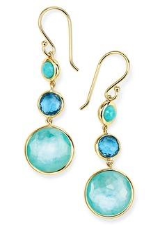 Ippolita Small Lollipop 3-Stone Drop Earrings