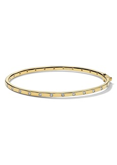 Ippolita Stardust Diamond Thin Hinge Bangle